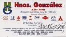 Hnos. Gonzalez Auto Parts