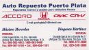Auto Repuesto Puerto Plata