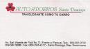 Auto Adornos Santo Domingo